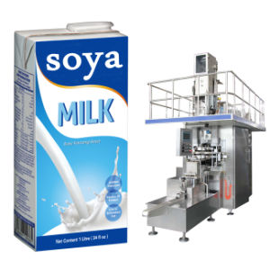 1000ml 1lt Paper Carton Aseptic Brick Filling and Packing Machine Sxb-1
