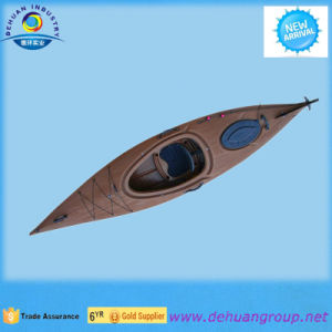 Plastic Single Sit in Wooden Grains Kayak