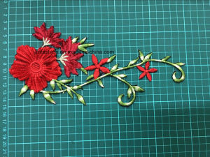 High Quality New Lady′s Garment Accessories Colour Embroidery Flower Ym-40 pictures & photos