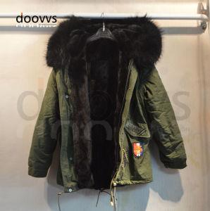 meet 6d902 0387e Male Black Winter Fur Coat, Men Fur Collar Faux Fur Parka Outerwear Jacket