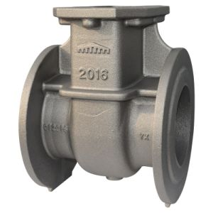 Used for Water Pipe Valve Body Iron Casting