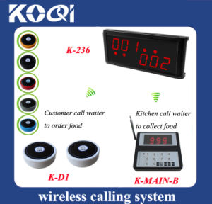 CE Approved 433.92MHz Guest Paging System for Self-Service Restaurant pictures & photos