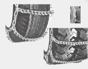 32 Wide Base Series Snow Truck Chains