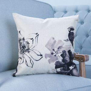Digital Print Decorative Cushion/Pillow with Botanical&Floral Pattern (MX-10) pictures & photos