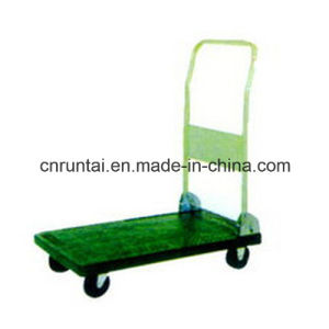 Steel Foldable China Platform Hand Truck pictures & photos