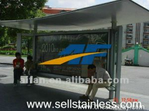 Export Good Equality Bus Shelter, Bus Station, Steel Structure