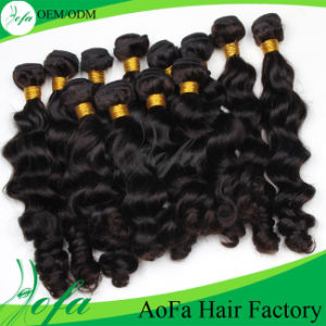 Fast Delivery Natural Balck Virgin Human Hair Chinese Hair Supply pictures & photos