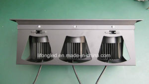 Hot Sale Heat Dissipate Square Three Heads LED Ceiling Grille Light 3*12W pictures & photos