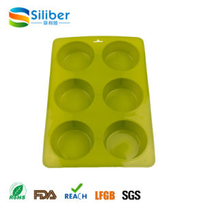 Promotional 6 Cups Cake Muffin Cupcake Baking Mold/Mould