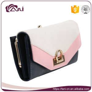 fashion Design Trend Women Lady PU Leather RFID Wallet pictures & photos