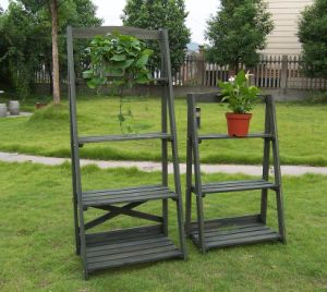 China 3 Tier Plant Stand Garden Planter