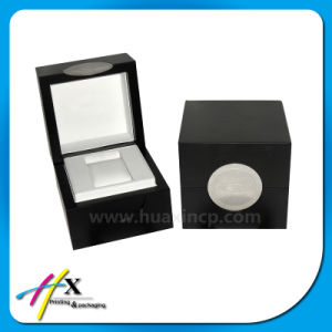 Luxury Logo Engraved Wooden Watch Packaging Gift Box pictures & photos