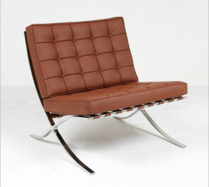 Barcelona Chair Modern Clic Furniture Replica Designer Sofa Mid Century Leather Armchair