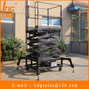 300kg 6m Hydraulic Scissors Lift Equipment (SJY0.3-6)