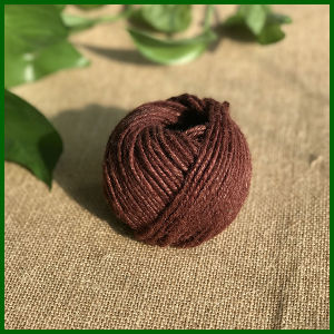3ply Dyed Colorful Jute Twine for Gardening (brown)
