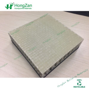 Light Weight FRP GRP Honeycomb Sandwich Panel for Rigid Truck Body pictures & photos