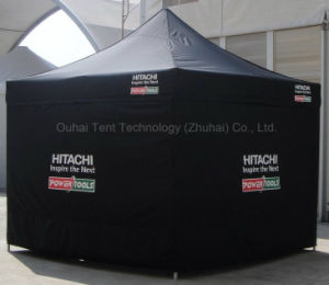 3m X 3m Folding Tent with Customized Logo Printing in Black