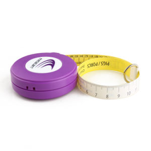 China Wholesale PVC Fiberglass Animal Pig Cattle Weight Tape Measure (WT-018) pictures & photos