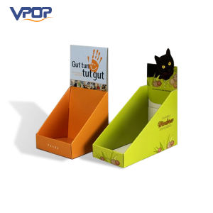 Wholesale Corrugated Paper Book Storage Display Stand Box