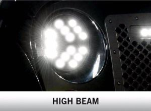 "J251 7"" Inch 75W Luminex LED Headlight for Jeep Wrangler Jku pictures & photos"