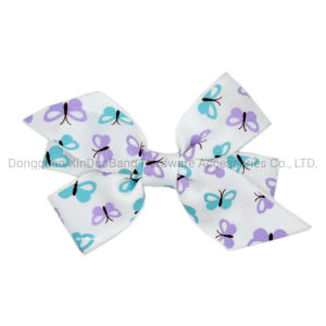New Lovely Soft White And Red Color Polka Dot Bow Ribbon Cute Hair Clip To Have Both The Quality Of Tenacity And Hardness Kids' Clothing, Shoes & Accs