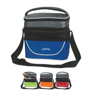 Two Compartment Insulated Lunch Bag, Cooler Bag pictures & photos