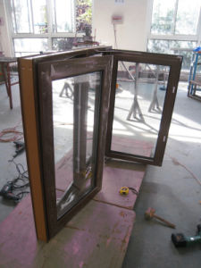 Single Glazing Aluminum Crank Window pictures & photos