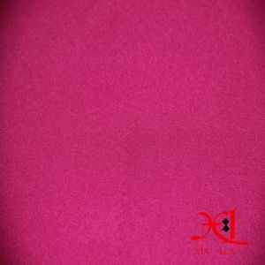 Sportswear Fabric Stretch/Elastic Plain Dyed Polyester Fabric for Pants pictures & photos