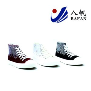 Shiny Paillette Canvas Shoes Women Shoes Shoes Bf1701632 pictures & photos
