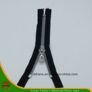 Fishbone Alloy Zipper with Silver Teeth pictures & photos
