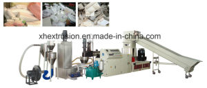 Single Screw Recycling and Pelletizing Line