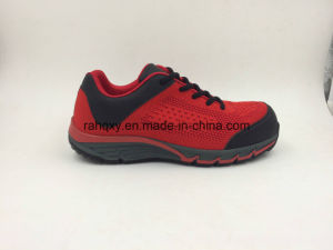 Strong Fabric New Material Flyknit Safety Shoes (16038) pictures & photos