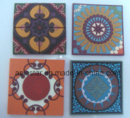 Four Folower Set PVC Coaster pictures & photos