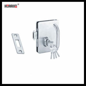 SS304 Glass Door Lock With Single Handle HR-1138B/HR-1138 pictures & photos