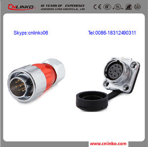 china 9pin 400v 5a metal auto electrical auto connector can be used rh cnlinko en made in china com