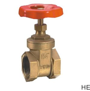(HE-3002) Gate Valve with Steel Handle for Water
