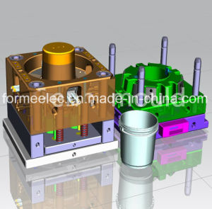 Paint Bucket Mould Design Manufacture Paint Barrel Mold pictures & photos