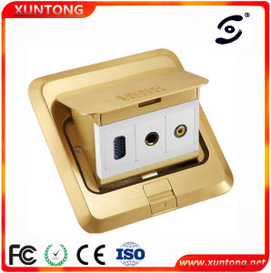 Universal Intelligent Multimedia Floor Box Socket pictures & photos