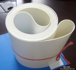 Food Grade Material Flat Belt Conveyor PU PVC Belt pictures & photos
