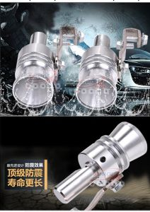Universal Turbo Sound Whistle Exhaust Pipe Tailpipe Bov Blow-off Valve  Simulator Aluminum