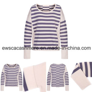 Lady Stripes Long Sleeve Knitwear