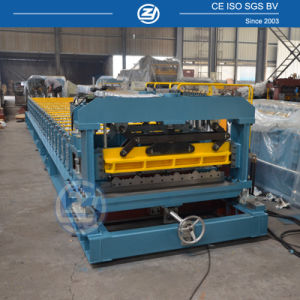 PLC Control Building Materials Roofing Tile Roll Forming Machine pictures & photos