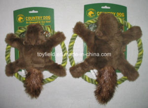Rope Dog Toy Plush Squirrel Supply Pet Toy pictures & photos