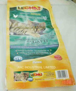 Flat Bottom Bag for 1.5kg Cat Foods