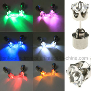 LED Blinking Ear Drop Pendant for Dance Party (4901)