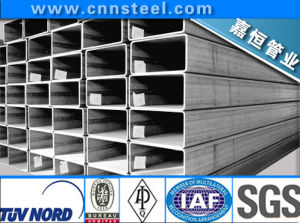 Q345b, Q235, Q195, Square/Rectangle Iron Steel Pipe in Construction