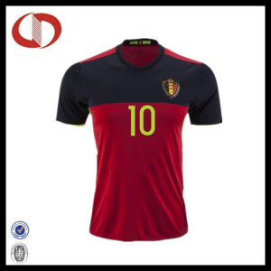 Best Selling Wholesale Mans Soccer Jersey with Number Printing pictures & photos