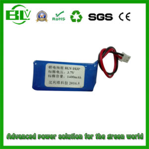 3.7V 1400mAh Small Polymer Lithium Battery 802243 Beauty Equipment pictures & photos