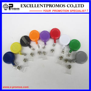 Customized Logo Cheapest Plastic Round Badge Reels Holder (EP-BH112-118) pictures & photos