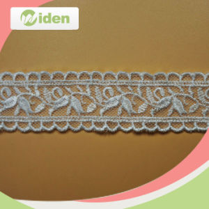 Excellent Machines High Productivity Embroidery French Net Lace for Dress pictures & photos